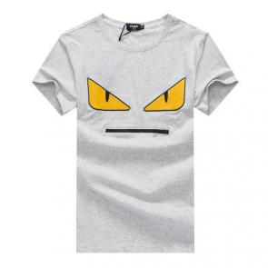 original fendi t-shirt luxory brands 2019 yellow eyes gray